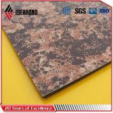 [إيدبوند] [ب] [بفدف] [بر-بينتد] حجارة حبة ألومنيوم بلاستيكيّة مركّب لوح