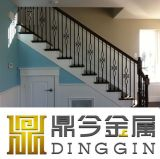 Las piezas decorativas de puerta de hierro forjado, varilla de 4 o 8 cestas de torsión de hierro varilla