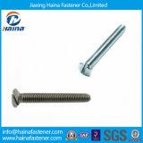 O zinco do fornecedor DIN963 de China chapeou os parafusos de máquina principais entalhados de Csk
