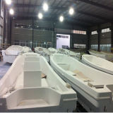 Cer Certification Fiberglass Pontoon Boat für Sale
