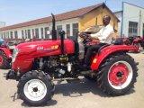 로더를 가진 35HP-75HP 농업 사용 바퀴 농장 트랙터