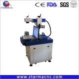 Keyland Laser-Markierungs-Maschinen-Stich-Firmenzeichen auf Metall