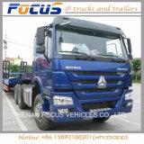 Cabeça grande do caminhão do veículo com rodas de Sinotruck HOWO 6X4 10 do disconto