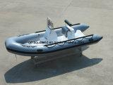 Aqualand 16feet 4.7mの堅く膨脹可能なボートまたは川のモーターボート(RIB470A)