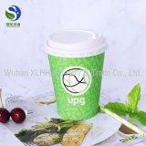 Tazza di caffè di carta a gettare, tazza di carta del supporto caldo della bevanda, tazza di carta 8oz