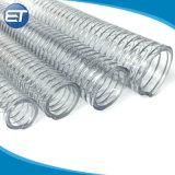 La FDA a approuvé de qualité alimentaire matériau flexible en PVC flexible en spirale sur le fil en acier renforcé