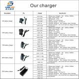 2.4V-12V 0.5A Aufladeeinheit Ni-Mh mit veränderbarem EU/Us/UK/Au Stecker