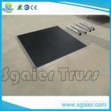 Plataforma do estágio de Sgaier, estágio de alumínio, placa do estágio do estágio de Sgaier