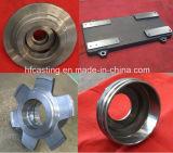 Peças de maquinaria, carcaça Ductile do ferro para a maquinaria da engenharia