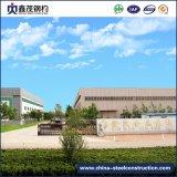 Amplia gama H prefabricados de estructura de acero de sección de taller con la certificación ISO