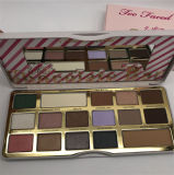 De goede Kwaliteit zag ook Kosmetische Witte Chocoladereep 16 van de Make-up het Palet van de Oogschaduw van Kleuren onder ogen
