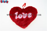 Valentine Gift Plush Software Heart Pillow Cushion in Pink and Hot Pink Color