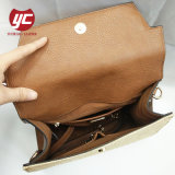 Горячий продавать Дизайн Леди стильный соломы и PU женская сумка