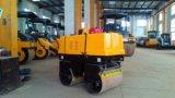 Qualidade superior 0,8 ton vibratório hidráulico pequeno rolo de Estrada