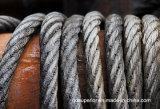 직류 전기를 통한 철강선 밧줄 케이블 6 x 36 Iwrc