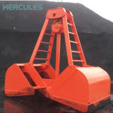 Настройка Апельсиновая блок гидравлический экскаватор Grab для отходов