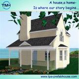 Casa ligera respetuosa del medio ambiente del chalet de la estructura de acero
