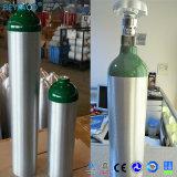 precio de fábrica de aluminio del cilindro de oxígeno portátil del cilindro de Oxigeno