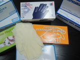 Ausdehnungs-synthetische Viny Handschuhe zum medizinischen Zweck