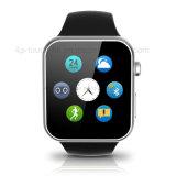 Reloj elegante multilingue con el ritmo cardíaco y la supervisión A9 de ECG