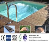 O composto de plástico de madeira clássico à prova de lixagem da superfície Deck WPC