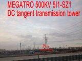 Torretta della trasmissione di tangente di CC di Megatro 500kv 5I1-Sz1