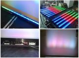 320 RGBWディスコのための無線電池式LEDの洗浄棒