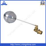 Латунный обратный клапан с плавающей запятой в резервуар для воды (ярдов-3014)