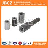 Aufbau-Stahlstab-Anschlüsse mit dem Schrauben-Durchzug