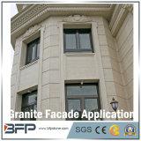 Tuile normale de mur de granit, tuile de façade, tuile de revêtement de pierre de mur extérieur