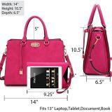 Borse di cuoio dell'unità di elaborazione delle borse della donna del sacchetto di mano del sacchetto della signora Handbags Ladies Handbag Women di modo (WDL0378)