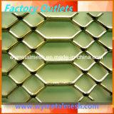 Het algemene Geperforeerde Diamant Uitgebreide Metaal van de Grootte Roestvrij staal