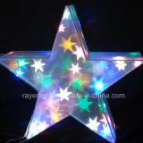 Luzes do diodo emissor de luz Stra dos chapéus de coco da árvore de Natal das luzes de Natal do diodo emissor de luz
