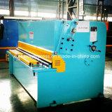 Máquina de corte hidráulica do metal de folha de QC12y