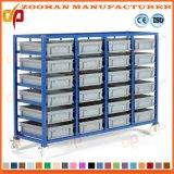 ガレージの貯蔵容器の大箱の悩ますことに棚に置くプラスチック収納キャビネット(Zhr293)