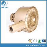 ventilador de alta presión del anillo del aire de la etapa del doble del productor del vacío 4kw