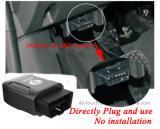 Facile installare l'inseguitore di Obdii GPS dell'automobile con l'inseguimento in tempo reale
