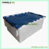 50L de plástico de apilamiento de sólidos y el anidamiento Mobile Tote en venta