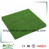 Do golfe ao ar livre sintético da grama do relvado do verde de colocação grama artificial