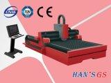 автомат для резки лазера волокна 1000W в металлическом листе и индустриях изготовления