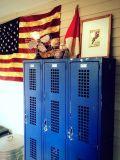 De Amerikaanse Blauwe Kast van de Grootheid van de Opslag van het Metaal van de Opening van de Lucht van de Kaart van de Naam Netto