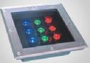 304 acero inoxidable IP67 de Metro de LED RGB LED/ luz enterrada