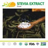Stevia normal d'extrait de lame de 100% (80%~97%%Steviosides)