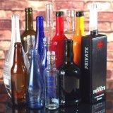 Custom стеклянную бутылку, спиртные напитки бутылка вина и бутылка, напитков и выжмите сок из расширительного бачка