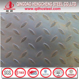 Plaque galvanisée par larme Checkered plongée chaude de plaque en acier
