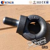 L'acier forgé noir BS4278 longue tige boulon à oeil