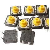 Micro interruttori di tatto del pulsante dello SGS 50mA 12VDC con Spst (KSS-0EH9250)