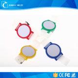Wristband passivo reso personale di grande prossimità di plastica RFID