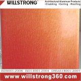 Materiale composito di alluminio della decorazione del comitato di multi colore
