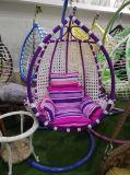Cadeira de suspensão do balanço do ovo do Rattan ao ar livre barato do jardim do preço
